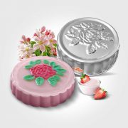 100207. Rosa (gelatina)